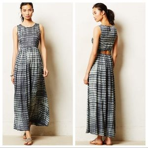 Anthropologie - Neuw - Shibori Maxi Dress NWT SZ M